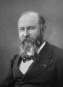 Felix de Vuillefroy, vers 1882, photographie